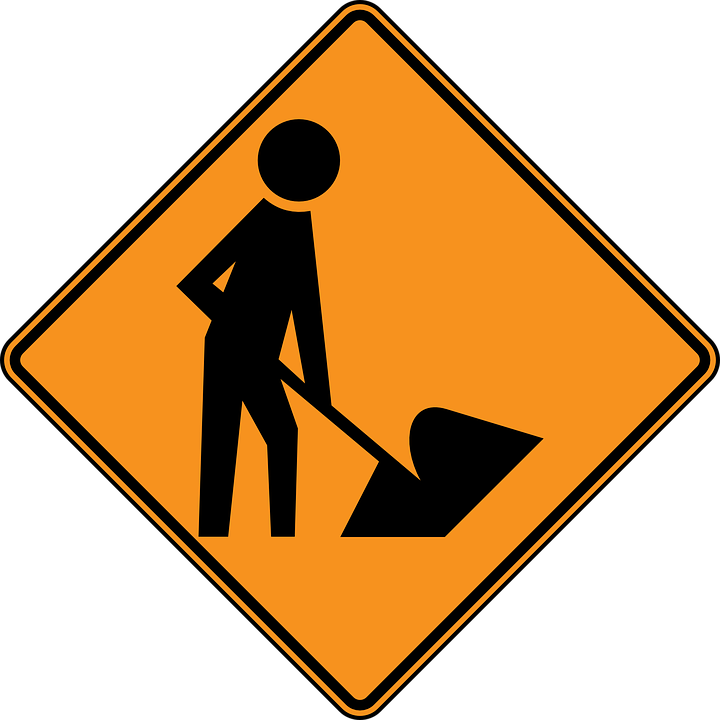 Construction Sign for Products Page