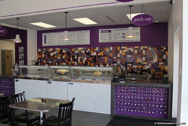 Purple Door display