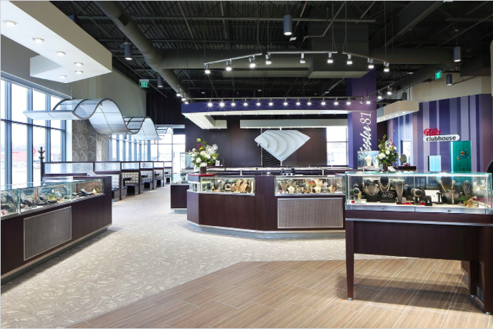 Complete Commercial Interior Design Services Retailworks Inc