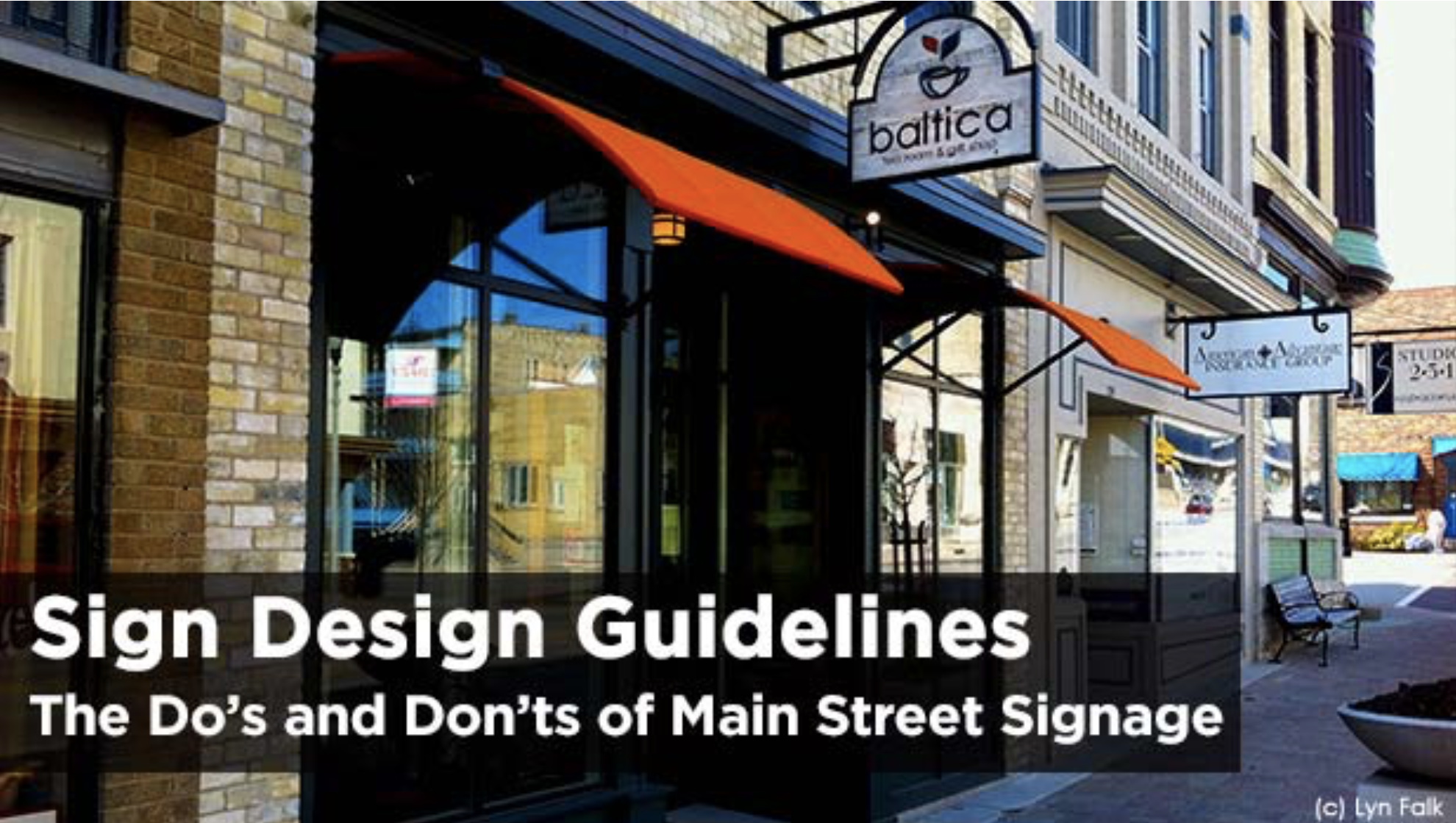 Sign Design Guidelines