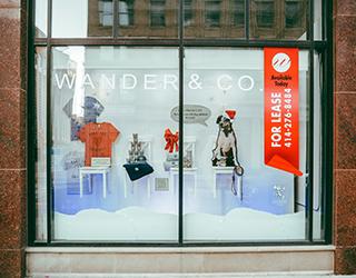 Clothing retailer window display in Milwaukee designed by Retailworks Inc. & Window Displays | Branded Displays | Store Displays | By Retailworks ...